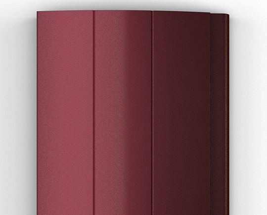 Пенозаполненный профиль бордовый (RAL 3005)
