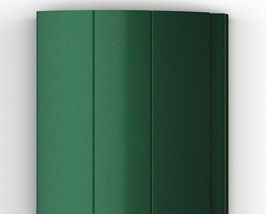 Пенозаполненный профиль зеленый (RAL 6005)