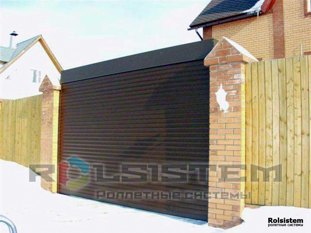 электрическая схема гаражных рулонных ворот